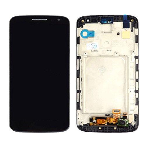 YICHAOYA Reemplazo de Pantalla LCD for LG G2 Mini, reparación de Pantalla Rota, Pantalla LCD + Panel táctil con Marco for LG G2 Mini / D620 / D618 (Negro) (Color : Black)