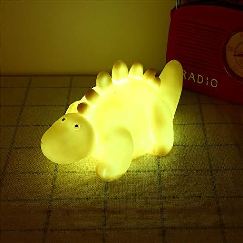 LED nachtlampje creatief heerlijk dinosaurus tafel ornament naast licht voor kinderbad speelgoed