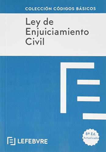 LEY DE ENJUICIAMIENTO CIVIL 8ª edc.: Código Básico (Códigos Básicos)