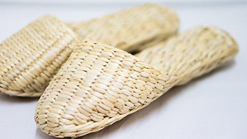 CP Chaussures Naturelles: Herbe 25-27cm Main pour la Chambre, Chambres d'hôtes, etc.