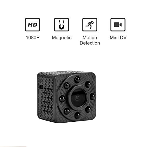 For Sale! Lsmergh Mini Spy Camera Support 32GB Memory Card Million HD Lens, Spy Nanny Cam Video Surv...