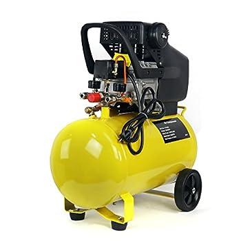 Stark Portable Quiet Air Compressor 10-Gallon Tank 3.5HP Air Compressortra Quiet Compressor w/Wheel