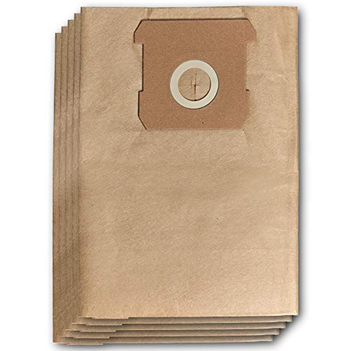 Original Einhell Schmutzfangsack 15 L (passend für Einhell Nass-Trockensauger, 5 Stück enthalten)