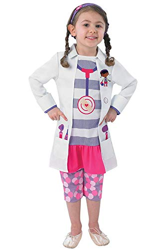Rubie's - Disfraz de Doctora infantil, 3-4 años (889549-S)