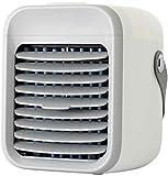 Personal portátil mini acondicionador de aire con mango, USB 2000 mAh batería recargable, purificador de aire de 3 velocidades para el sitio de la oficina - enfriamiento rápido en sólo 30 segundos