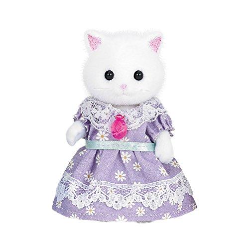 シルバニアファミリー 人形 ペルシャネコのお母さん 4.4×8.3×3.4cm ニ-92