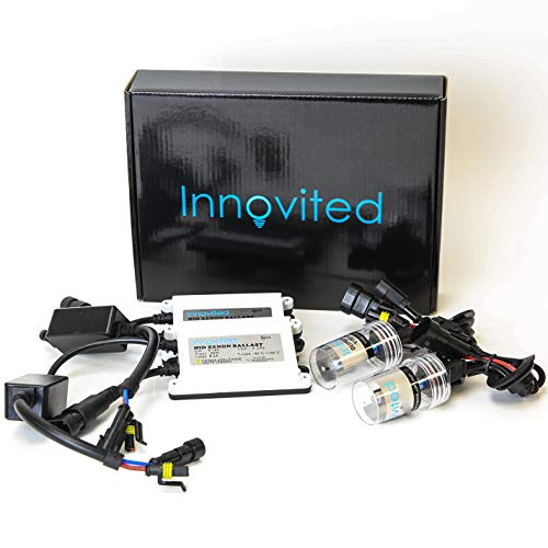 Innovited 55W AC HID bundle with (1 Pair) Slim Ballast and (1 Pair) Xenon bulb H7 5000K (Pure White)