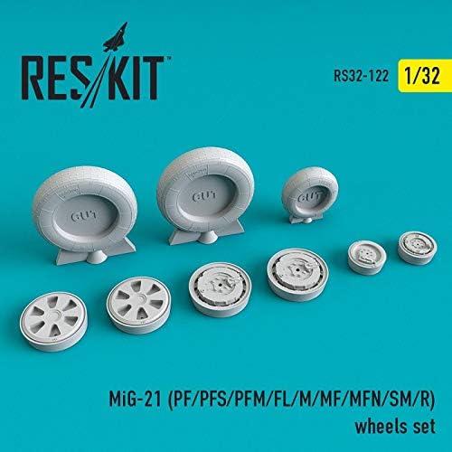 Reskit RS32-0122 - 1 32 MiG-21 PF Seasonal Wrap Introduction PFS At the price of surprise FL M R SM MFN PFM MF Whe