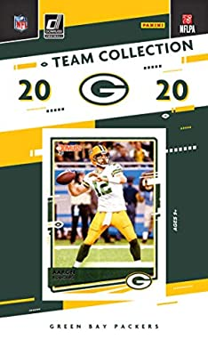 2020 Panini Football Green Bay Packers Team Set 10 Cards W/Drafted Rookies Aaron Rodgers