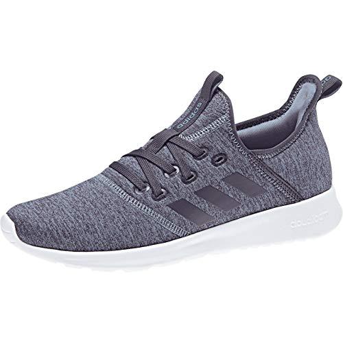 adidas Cloudfoam Pure, Zapatillas de Running para Mujer, Gris (Rawgre/Trapur/Ftwwht 000), 44 EU