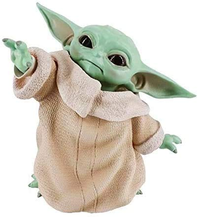 FY-XNJF Baby Yoda FigureToys, Peluches 5.9 Inch The Child Yoda Resin Replica Collection Toy from muñecas Regalos de cumpleaños