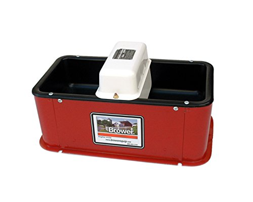 Brower MC32HE Super Insulated Electric Heated Double Drink Horse Waterer