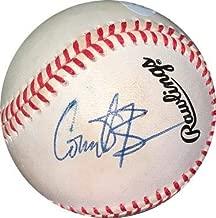 Conan O'Brien signed RONL Rawlings Official National League Baseball minor tone spots- Holo #EE41640 (Talk show host) - JSA Certified