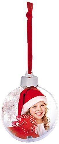 ZEP S.r.l SF120 Snow Flake - Palla di Natale con Foto