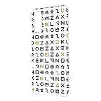 FFANY OPPO Reno3 A 用 ハードケース スマホケース 古代文字風・ホワイト サイン記号 エンシェント オッポ リノスリー エー SIMフリー 楽天モバイル ワイモバイル スマホカバー 携帯ケース 携帯カバー ancient_aam_h210111