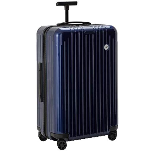 Buy Discount RIMOWA Essential Lite Lufthansa Edition Check-In L, blue glossy 81L