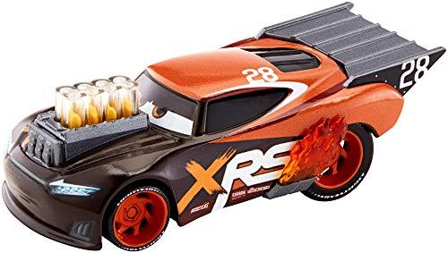 Disney Cars GFV37 - XRS Xtreme Racing Serie Dragster-Rennen Die-Cast Spielzeugauto Nitroade, Spielzeug ab 3 Jahren