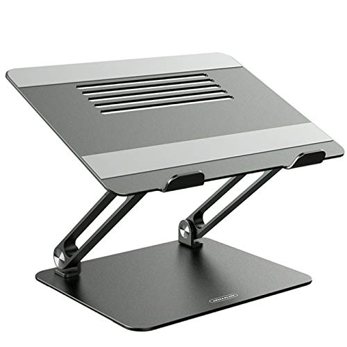 FSSQYLLX Tablet Stand Alloy Laptop Holder Foldable Adjustable Laptop Cooling Stand