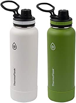 2-Pack Thermoflask Vacuum Insulated Stainless Steel Water Bottle