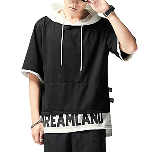 XIAOYAO Camiseta con Capucha Hombre & Mujer