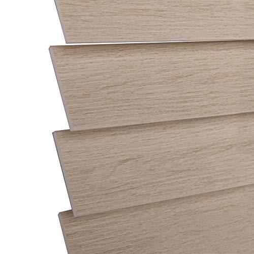 WENZHE Venecianas Estores De Bambú Persiana Enrollable PVC Impermeable Prueba De Moho...