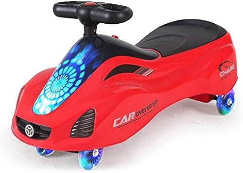Kinder drehen Auto Caster stumm Twist Auto (Farbe   B)