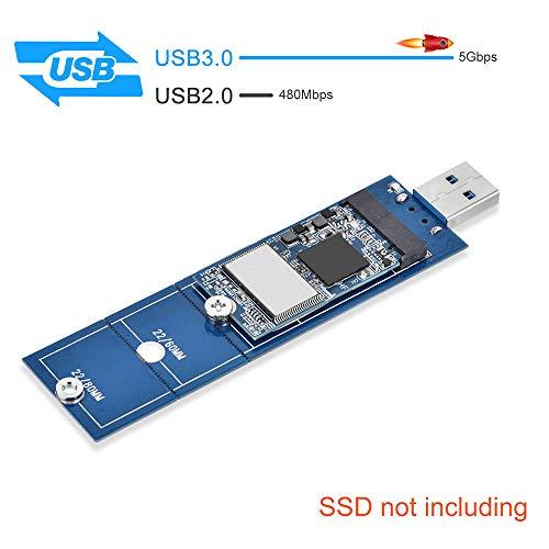 ELUTENG M.2 SATA USB Adattatore per Key B o B & M SSD M.2 NGFF ...