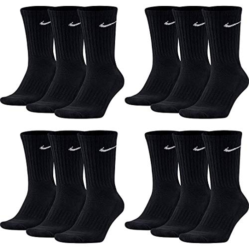 NIKE SX4508-001 3PPK PACK VALUE CREW 12 PAAR (46-50 / XL)