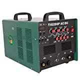 HST TIG WIG Schweißgerät AC DC MMA TIG 200 P Alu Puls 2/4 Takt HF Zünd Inverter