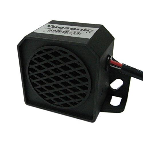 Yuesonic 97dB White Noise Backup Alarm Rückfahrwarner mit Draht Anschluss für Fahrzeuge