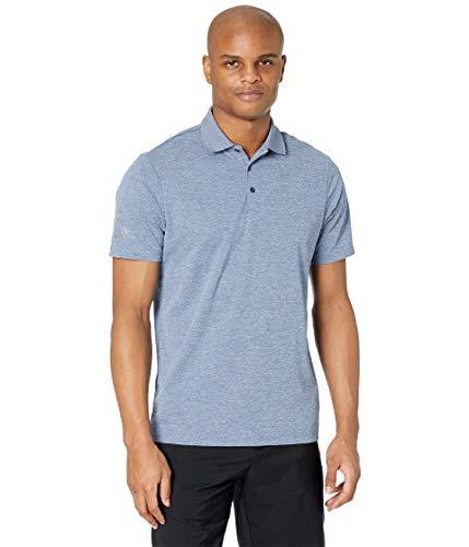adidas Golf Men's Performance Primegreen Polo Shirt, Noble Indigo, Large