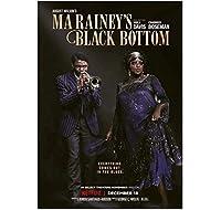 マレイニーのブラックボトムクラシック映画ウォールアートキャンバス絵画ポスターリビングルーム家の装飾壁の装飾-50x70cmフレームなし