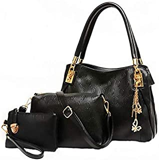 Tote Bag with 2 Pouch Set for Women