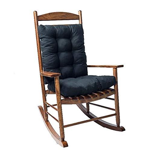onegoodcar Rocking Chair Cushion Pad 2 Pieces Indoor/Outdoor Rocking Chair Cushions Set NonSlip Overstuffed Patio Chair Cushion