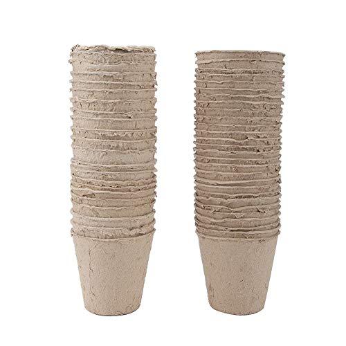Energiespar- und Umweltschutz Round Pulp Degradable Nursery Cup für Ökologisierungsprojekte Brond New