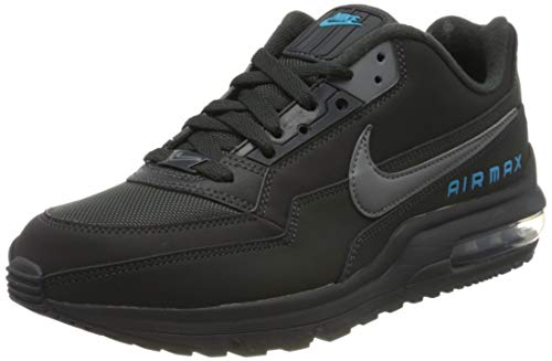 Nike Herren AIR MAX LTD 3 Traillaufschuhe, Mehrfarbig (Anthracite/Cool Grey-Lt Current Blue 002), 46 EU