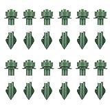 Conjunto de riego automático, conjunto de riego automático Picos de Waterer Planta Dispositivos de riego Auto Drip Dispositivos de irrigación para planta en maceta Green Green 12pcs