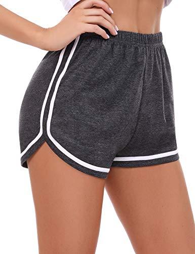 Sykooria pantalón Deportivo para Mujer Corto Verano pantalón Chandal Mujer Pantalon Deporte Corto Mujer