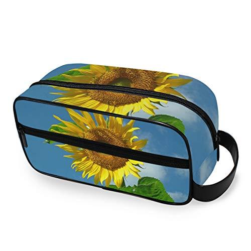 Sunflower Trousse de Maquillage Portable pour Femme et Fille
