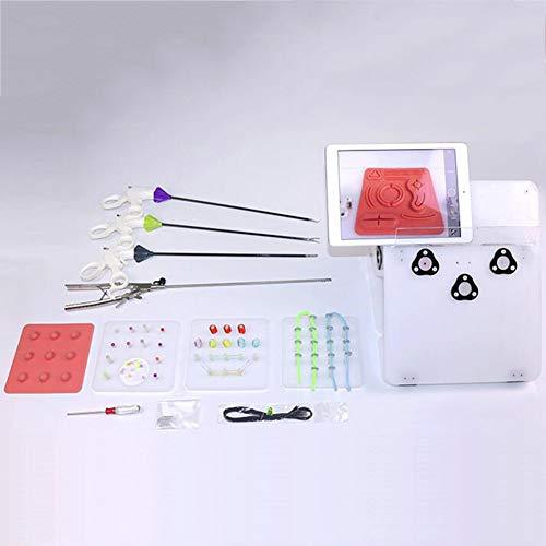 Laparoskopische Chirurgie Trainings Simulator Laparoskopische Trainer Box Mit 4 Chirurgische Instrumente, 6 Schulungsmodule Simuliert Chirurgisch Ausrüstung