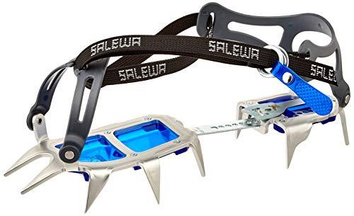 Salewa Alpinist ALU Walk Crampón, Acero/Azul, Talla Única