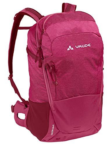 VAUDE Damen Rucksaecke20-29l Women's Tacora 26+3, Allround-Rucksack für Wandern und Alltag mit erweiterbarem Volumen, crimson red, Einheitsgröße, 129779770