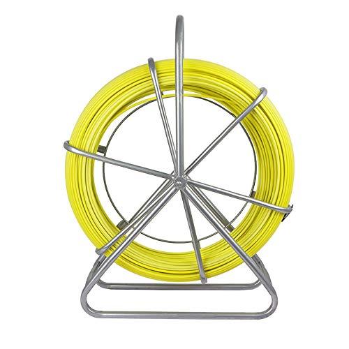 ECO-WORTHY Brin Rigide D'Aiguillage/Tirage De Câble Fibre De Verre 6 Mm X 130 M