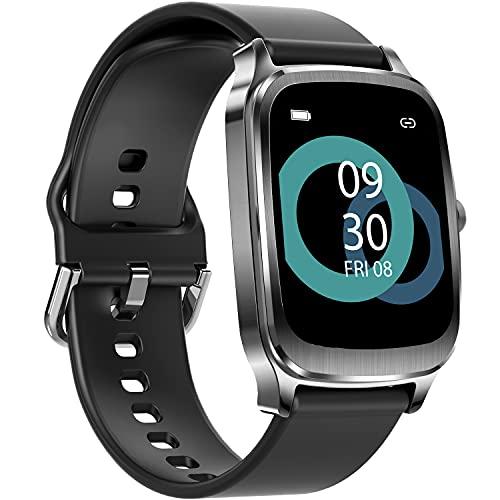 Smartwatch, 1,65'' Touch Schermo Orologio Fitness Uomo Donna Activity Tracker, Impermeabile IP67 Smart Watch Cardiofrequenzimetro da Polso Contapassi, Notifiche Messaggi Controller Fotocamera Musicale