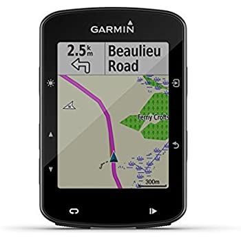 "Garmin 520 Edge Plus Ciclocomputer cartografico con GPS, Cycle Map Europa e connettività smart, Display 2.3 "", Impermeabile IPX7, Nero"