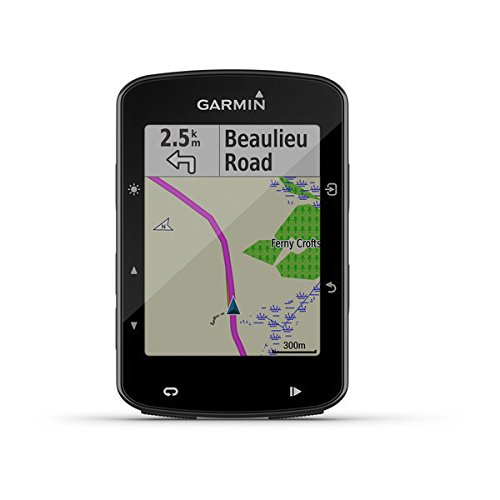 Garmin 520 Edge Plus Ciclocomputer cartografico con GPS, Cycle Map Europa e connettività smart, Display 2.3 ', Impermeabile IPX7, Nero
