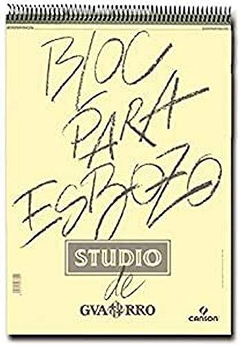 Guarro Canson 822620 - Cuaderno A4, 100 hojas, 90 gr