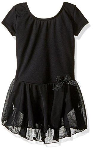 Capezio Girls' Short Sleeve Nylon Dress