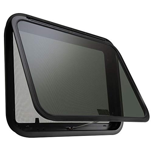 RV Exit Window 36' W x 22' H Optional Trim | RV Window Replacement (with Trim Ring)