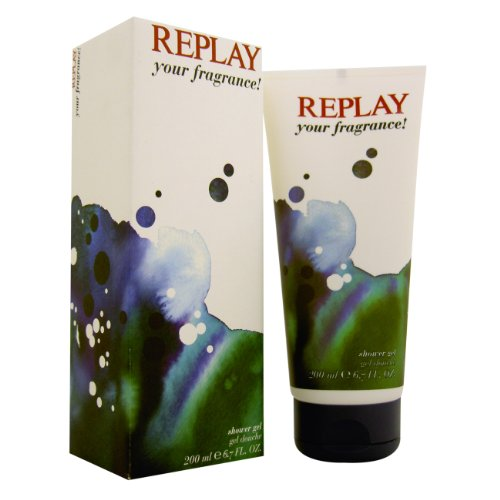 Replay Your Fragrance Man Shower Gel Boxed 200ml, 1er Pack (1 x 200 ml)